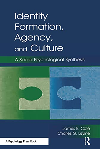 9780805837957: Identity, Formation, Agency, and Culture: A Social Psychological Synthesis
