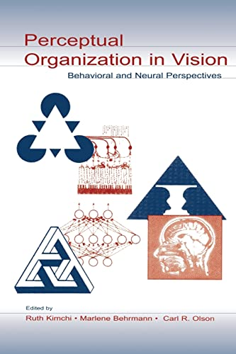 9780805838732: Perceptual Organization in Vision: Behavioral and Neural Perspectives (Carnegie Mellon Symposia on Cognition Series)