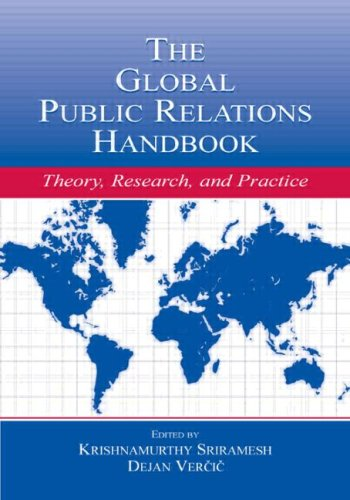 9780805839227: The Global Public Relations Handbook: Theory, Research, and Practice (Routledge Communication Series)