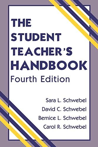 9780805839296: The Student Teacher's Handbook, 4th Edition