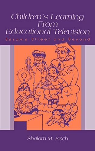 9780805839357: Children's Learning From Educational Television: Sesame Street and Beyond (Lea's Communication (Hardcover))