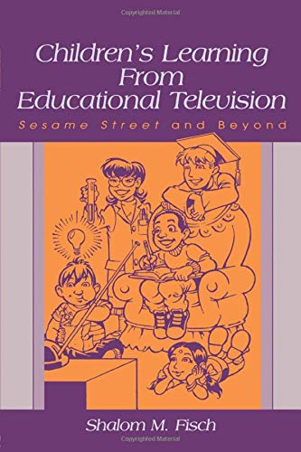 9780805839364: Children's Learning From Educational Television: Sesame Street and Beyond (Lea's Communication (Paperback))