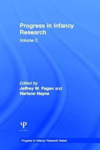 9780805839449: Progress Infancy Rsch Set V.1,2,3 Op: Progress in infancy Research: Volume 2 (Progress in Infancy Research Series) (Volume 1)