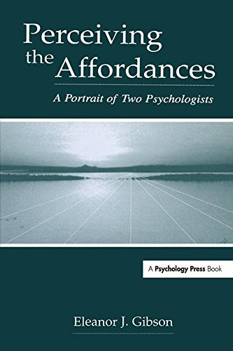 9780805839494: Perceiving the Affordances: A Portrait of Two Psychologists
