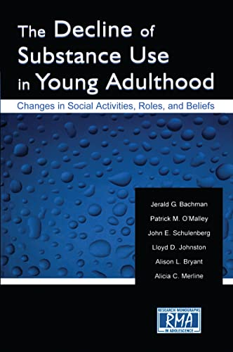 9780805839647: The Decline of Substance Use in Young Adulthood: Changes in Social Activities, Roles, and Beliefs (Research Monographs in Adolescence Series)