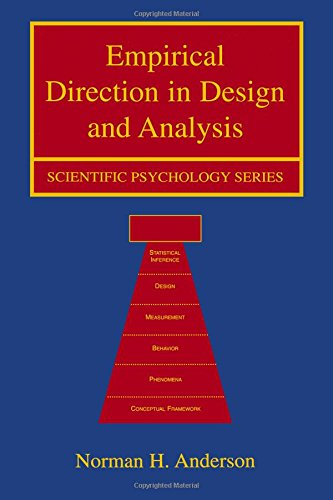 9780805839784: Empirical Direction in Design and Analysis (Scientific Psychology Series)