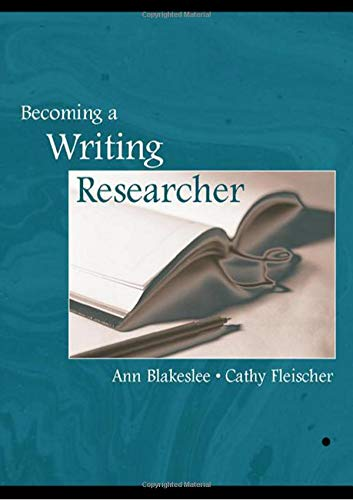 9780805839968: Becoming a Writing Researcher