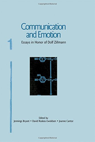 9780805840322: Communication and Emotion: Essays in Honor of Dolf Zillmann (Routledge Communication Series)