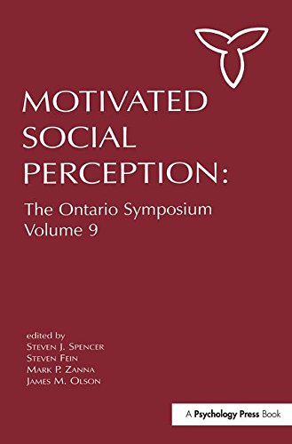 9780805840360: Motivated Social Perception: The Ontario Symposium, Volume 9 (Ontario Symposia on Personality and Social Psychology Series)