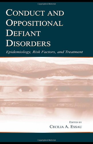 9780805840612: Conduct and Oppositional Defiant Disorders: Epidemiology, Risk Factors, and Treatment