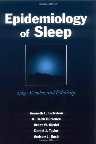 9780805840797: Epidemiology of Sleep: Age, Gender, and Ethnicity