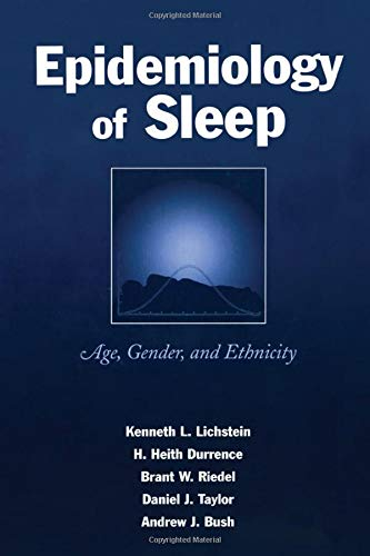 9780805840803: Epidemiology of Sleep: Age, Gender, and Ethnicity