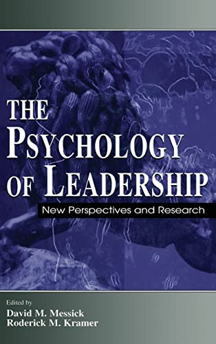 9780805840940: The Psychology of Leadership: New Perspectives and Research (Organization and Management Series)