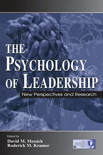 9780805840957: The Psychology of Leadership: New Perspectives and Research (Organization and Management Series)