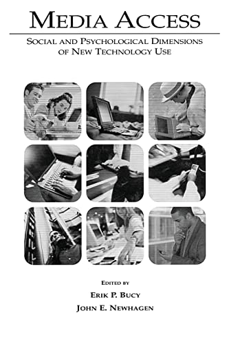 9780805841107: Media Access: Social and Psychological Dimensions of New Technology Use