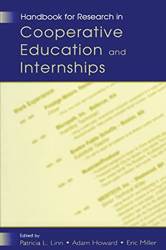 9780805841213: Handbook for Research in Cooperative Education and Internships