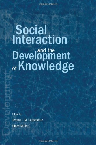 9780805841244: Social Interaction and the Development of Knowledge