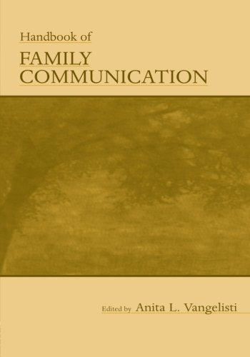 9780805841312: Handbook of Family Communication (Routledge Communication Series)