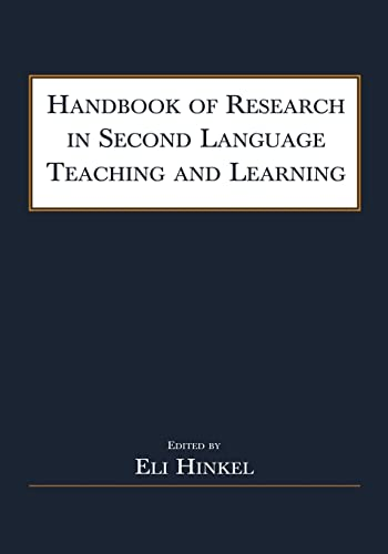 9780805841817: Handbook of Research in Second Language Teaching and Learning
