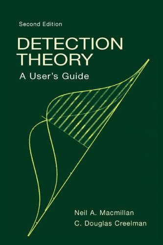 9780805842302: Detection Theory: A User's Guide