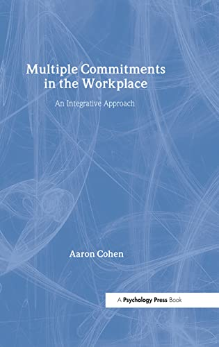 9780805842340: Multiple Commitments in the Workplace: An Integrative Approach (Applied Psychology Series)