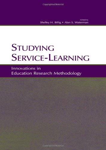9780805842753: Studying Service-Learning: Innovations in Education Research Methodology