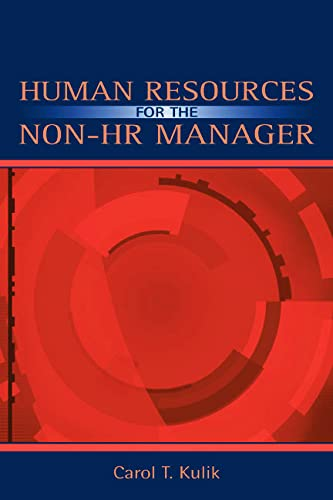 9780805842951: Human Resources for the Non-HR Manager