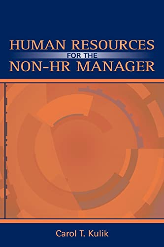 9780805842968: Human Resources for the Non-HR Manager