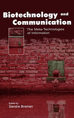 9780805843040: Biotechnology and Communication: The Meta-Technologies of Information (Routledge Communication Series)