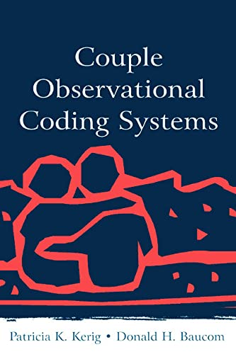9780805843576: Couple Observational Coding Systems