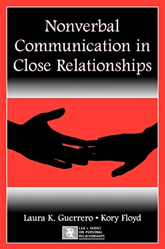 9780805843972: Nonverbal Communication in Close Relationships (LEA's Series on Personal Relationships)