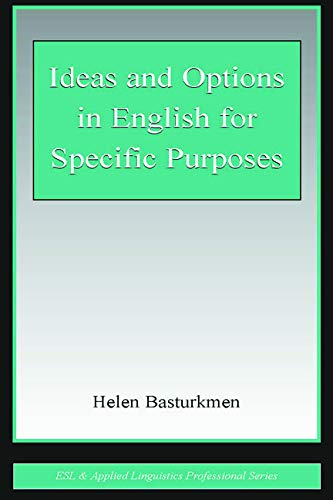 9780805844177: Ideas and Options in English for Specific Purposes (ESL & Applied Linguistics Professional Series)
