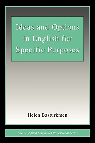 9780805844184: Ideas and Options in English for Specific Purposes (ESL & Applied Linguistics Professional Series)