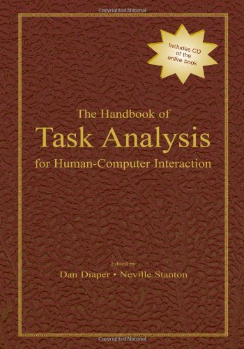 9780805844320: The Handbook of Task Analysis for Human-Computer Interaction