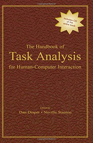 9780805844337: The Handbook of Task Analysis for Human-Computer Interaction