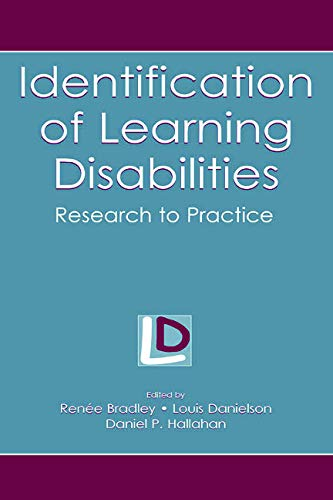 9780805844474: Identification of Learning Disabilities: Research To Practice (The LEA Series on Special Education and Disability)