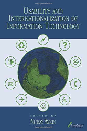9780805844795: Usability and Internationalization of Information Technology (Human Factors and Ergonomics)