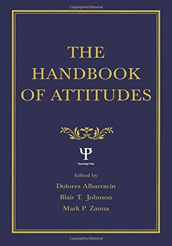 9780805844924: The Handbook of Attitudes