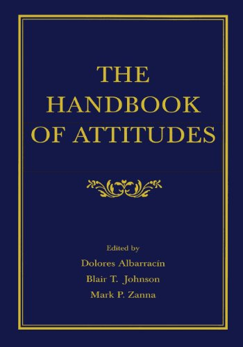 9780805844931: The Handbook of Attitudes