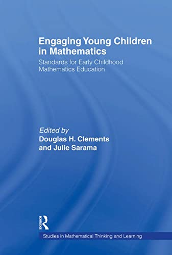 9780805845341: Engaging Young Children in Mathematics: Standards for Early Childhood Mathematics Education (Studies in Mathematical Thinking and Learning Series)