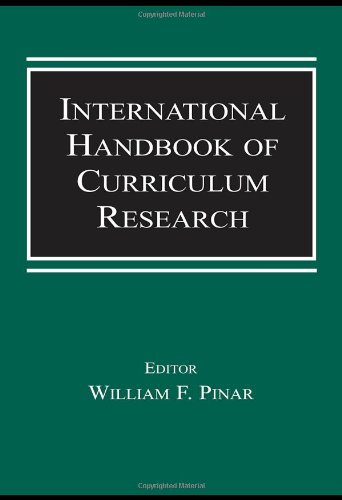 9780805845358: International Handbook of Curriculum Research (Studies in Curriculum Theory Series)