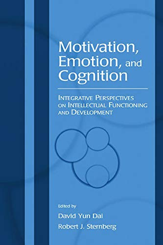 9780805845563: Motivation, Emotion, and Cognition: Integrative Perspectives on Intellectual Functioning and Development
