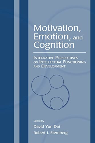 9780805845570: Motivation, Emotion, and Cognition: Integrative Perspectives on Intellectual Functioning and Development