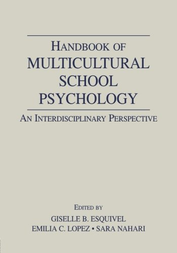 9780805845624: Handbook of Multicultural School Psychology: An Interdisciplinary Perspective (Consultation, Supervision, and Professional Learning in School Psychology Series)
