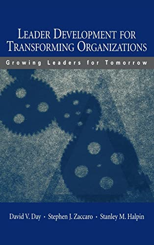 9780805845853: Leader Development for Transforming Organizations: Growing Leaders for Tomorrow (Applied Psychology Series)