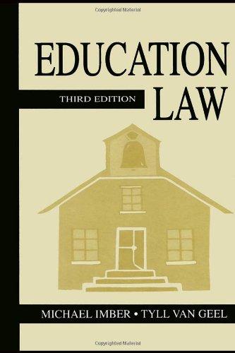 9780805846539: Education Law