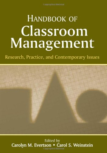 9780805847536: Handbook of Classroom Management: Research, Practice, and Contemporary Issues
