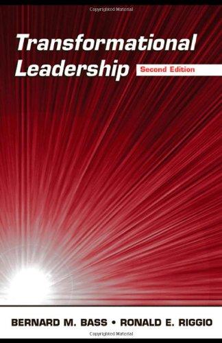 9780805847611: Transformational Leadership