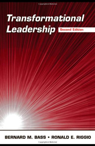 Transformational Leadership (9780805847611) by Ronald E. Riggio; Bernard M. Bass
