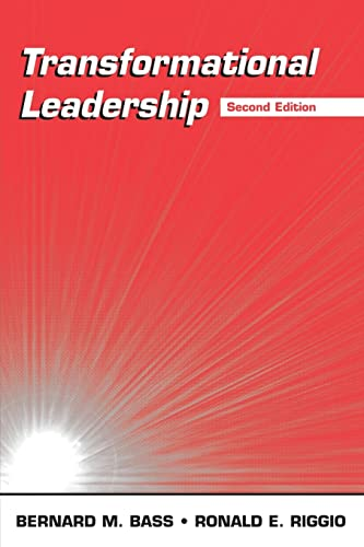 Transformational Leadership (0805847626) by Bernard M. Bass; Ronald E. Riggio